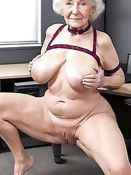 Granny Huge Tits